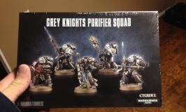 Grey Knights for My Second 40k Army