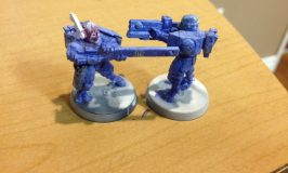 Tau Painting Begins and Grey Knights Update
