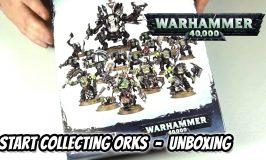 Start Collecting Orks Unboxing – 40k Starter Set