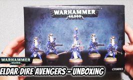 Eldar Dire Avengers Unboxing