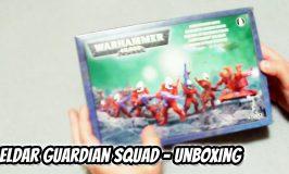 Eldar Guardian Squad Unboxing