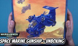 Space Marine Stormtalon Gunship Unboxing