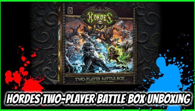 Hordes Two-Player Battle Box – Starting Hordes Mk3 Armies